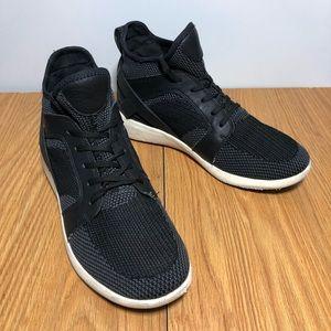 Aldo Black Hightop Sneaker Shoes